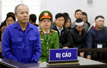 Bị cáo Nguyễn Văn Đông.