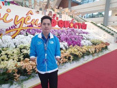 Lê Văn Tuấn là một trong những đại diện của thanh niên tiêu biểu Nghệ An tham gia Đại hội Liên hiệp thanh niên toàn quốc lần thứ VIII.