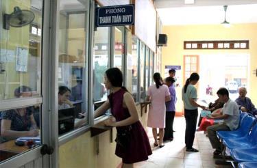 Bảo hiểm xã hội tỉnh tăng cường công tác giám định tại các cơ sở khám chữa bệnh bảo hiểm y tế.