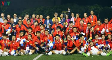 U22 Việt Nam xuất sắc giành HCV SEA Games 30