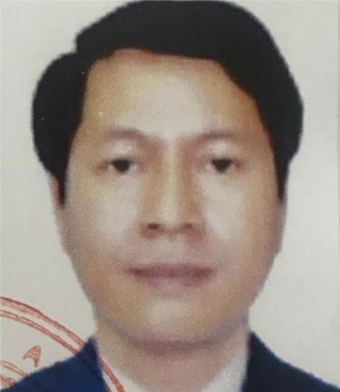 Bị can Trần Hữu Giang.