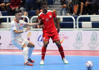 ĐT Futsal Việt Nam có trận thắng trước Oman.