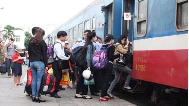 Vé tàu Tết Canh Tý 2020 đã được mở bán từ ngày 20/10.