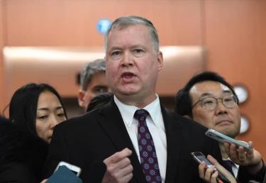 Đặc phái viên của Mỹ về Triều Tiên Stephen Biegun.
