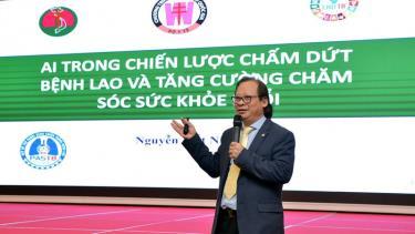 Ông Nguyễn Viết Nhung, Giám đốc Bệnh viện Phổi Trung ương nhấn mạnh công nghệ góp phần quan trọng trong mục tiêu chấm dứt bệnh lao vào năm 2030.