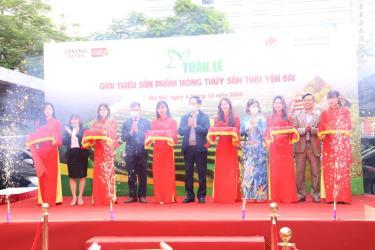 Khai mạc Tuần lễ giới thiệu sản phẩm nông, thủy sản tỉnh Yên Bái tại Siêu thị BigC Hà Nội