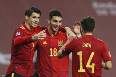 Tây Ban Nha sẽ đối đầu Italia ở bán kết UEFA Nations League