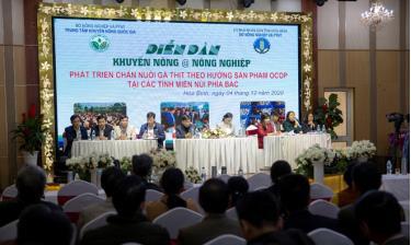 Diễn đàn thu hút đông đảo các chuyên gia, hợp tác xã ở các tỉnh phía bắc.