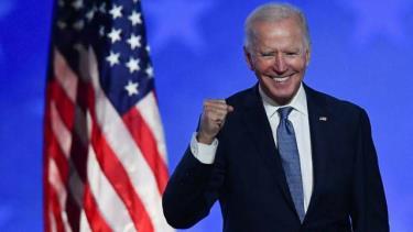 Ứng viên được dự đoán đắc cử tổng thống Mỹ Joe Biden.