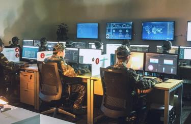Trung tâm điều hành giám sát không gian mạng của Công ty An ninh mạng Viettel (VCS).