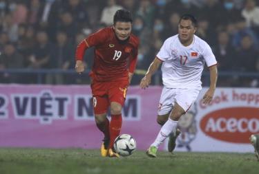Quang Hải ghi một bàn thắng tuyệt đẹp ở trận này