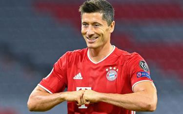 Lewandowski trải qua năm 2020 vô cùng ấn tượng trong màu áo Bayern.