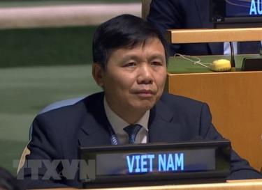Ambassador Dang Dinh Quy, Permanent Representative of Vietnam at the UN