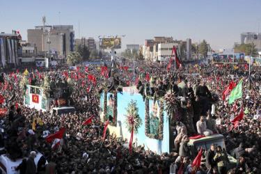 Vụ giẫm đạp đã xảy ra ở Kerman, quê hương của Tướng Qassem Soleimani.