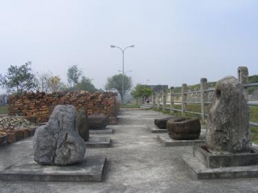 Một số hiện vật khai quật được tại Thành nhà Hồ
