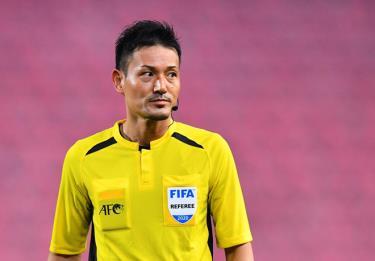Trọng tài Sato Ryuji sẽ bắt chính trận U23 Việt Nam gặp U23 Jordan.