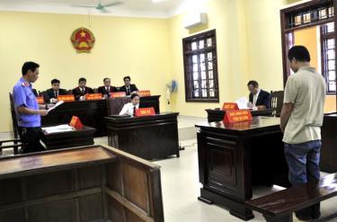 Tòa án nhân dân tỉnh chú trọng nâng cao chất lượng công tác xét xử và thi hành án hình sự.