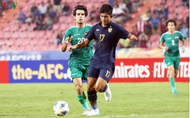 U23 Thái Lan loại U23 Iraq để vào tứ kết U23 châu Á 2020