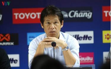 HLV Nishino tự tin vào khả năng cạnh tranh vé dự World Cup 2026 của bóng đá Thái Lan.