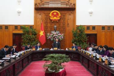 Thủ tướng chủ trì cuộc họp về công tác chuẩn bị Tết Nguyên đán Canh Tý 2020