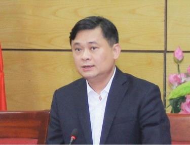 Tân Bí thư Tỉnh ủy Nghệ An Thái Thanh Quý.