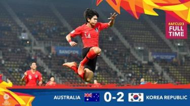 U23 Hàn Quốc vào chung kết U23 châu Á bằng chiến thắng thuyết phục.