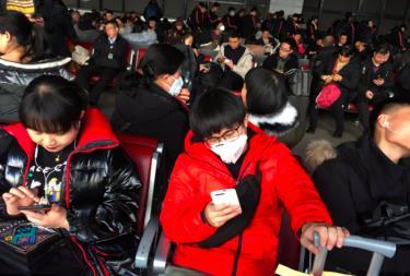 Dịch bệnh lây lan trong dịp người dân Trung Quốc đi lại nhiều trong dịp Tết nguyên đán.