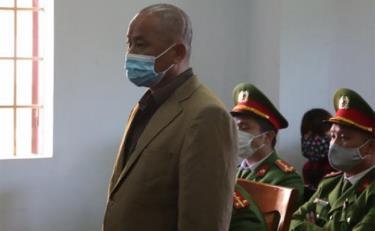 Bị cáo Minh tại phiên toàn