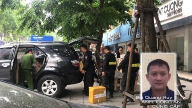 Bộ Công an khám xét chuỗi cửa hàng điện thoại Nhật Cường và Bùi Quang Huy