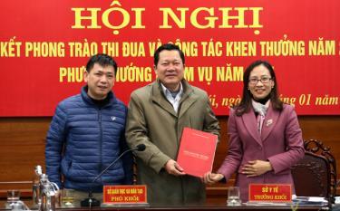 Sở Giáo dục và Đào tạo tỉnh Yên Bái được bầu làm Trưởng Khối thi đua các cơ quan văn hóa - xã hội tỉnh năm 2021
