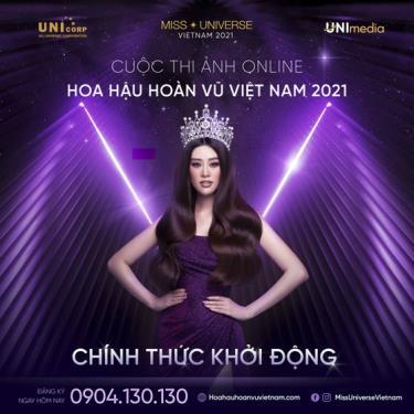 Cuộc thi ảnh online Hoa hậu Hoàn vũ Việt Nam 2021 đã chính thức khởi động