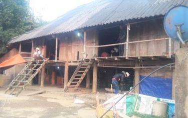 Ngôi nhà nơi xảy ra thảm án