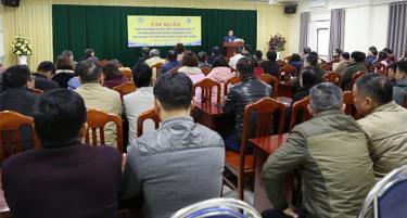 Viện Sốt rét - Ký sinh trùng - Côn trùng Trung ương phổ biến các nội dung của bệnh giun rồng đến các đơn vị y tế tỉnh Yên Bái