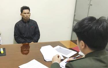 Cơ quan an ninh điều tra lấy lời khai Trần Hữu Đức