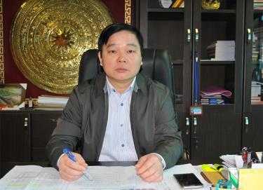 Đồng chí Nông Xuân Hùng - Cục trưởng Cục Thuế tỉnh.