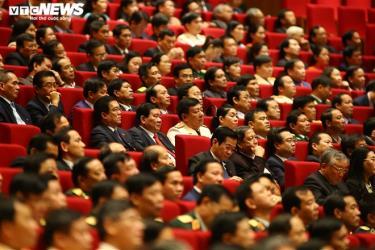 Đại biểu tại Đại hội Đảng XIII.