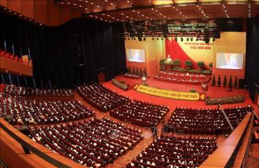 Toàn cảnh phiên họp Đại hội Đảng khóa XIII