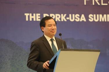 Ông Hà Văn Siêu, Phó Tổng Cục trưởng Tổng cục Du lịch Việt Nam cho biết Thượng đỉnh Mỹ - Triều là cơ hội vàng để quảng bá du lịch.