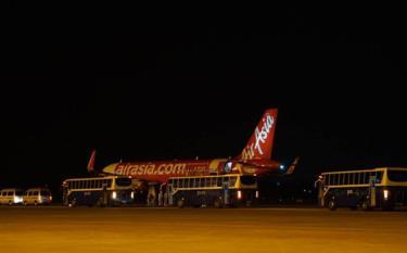 Máy bay của hãng hàng không Thai AirAsia.