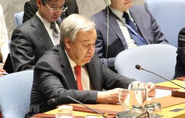 Tổng Thư ký Liên hợp quốc António Guterres.