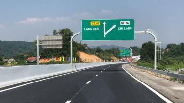 Cao tốc Bắc Giang - Lạng Sơn chính thức thu phí từ ngày 18/2.