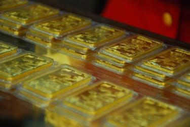 Giá vàng tăng 100.000-170.000 đồng mỗi lượng.