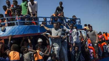 Nhiều người di cư được giải cứu khỏi Libya là những người tị nạn từ các cuộc chiến ở Syria, Iraq và Afghanistan.