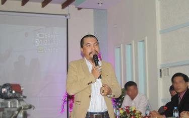 Bị can Nguyễn Hữu Tiến.