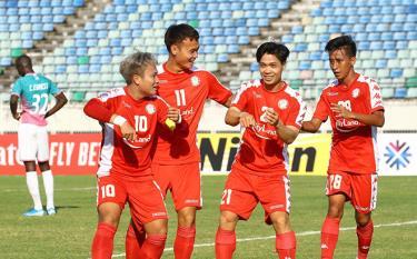 Công Phượng đang chơi tốt ở Thành phố Hồ Chí Minh sau khi trở về từ Bỉ.