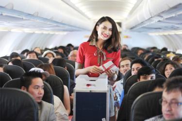 Vietjet giảm 50% giá vé cho tất cả các đường bay.