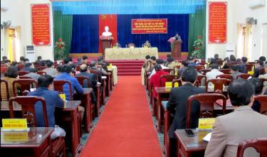 Hội nghị lần thứ 45 Ban Chấp hành Đảng bộ thị xã Nghĩa Lộ, khóa XIII tiếp tục quán triệt nhiều nội dung quan trọng của đại hội Đảng các cấp, nhiệm kỳ 2020 - 2025.