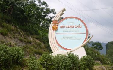 Biểu trưng huyện Mù Cang Chải