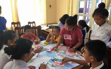 Trẻ em gái được tham gia nhiều hơn trong các lớp tập huấn cho trẻ em tại cộng đồng do Sở Lao động - Thương binh và Xã hội tổ chức hoặc phối hợp tổ chức.