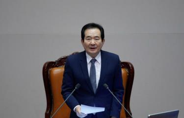 Thủ tướng Hàn Quốc Chung Sye-kyun.